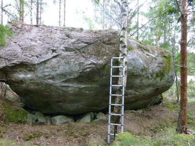 Route 66 boulder