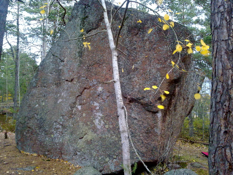 Soukka boulder