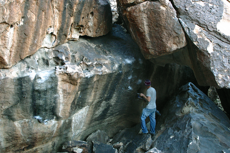 Martini Roof/Upper Lost Boulders