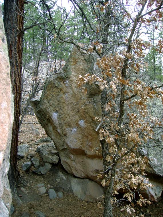 Triangle Boulder