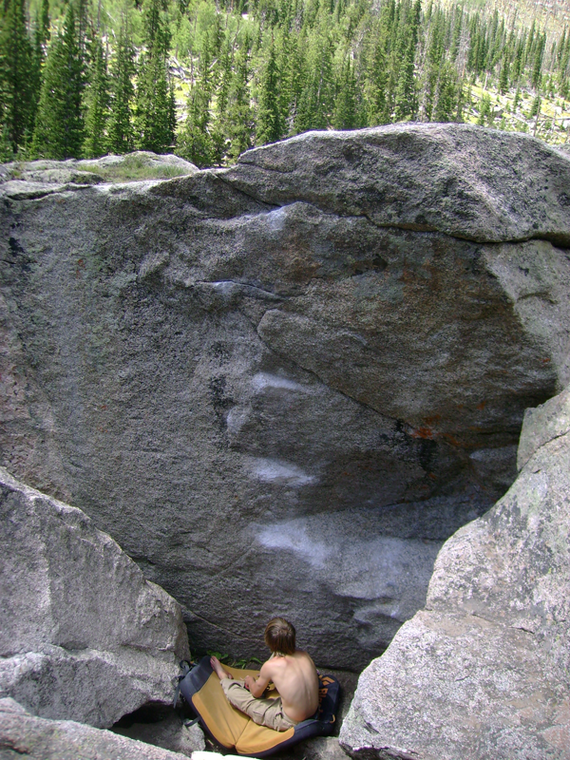 The Ladder Boulder