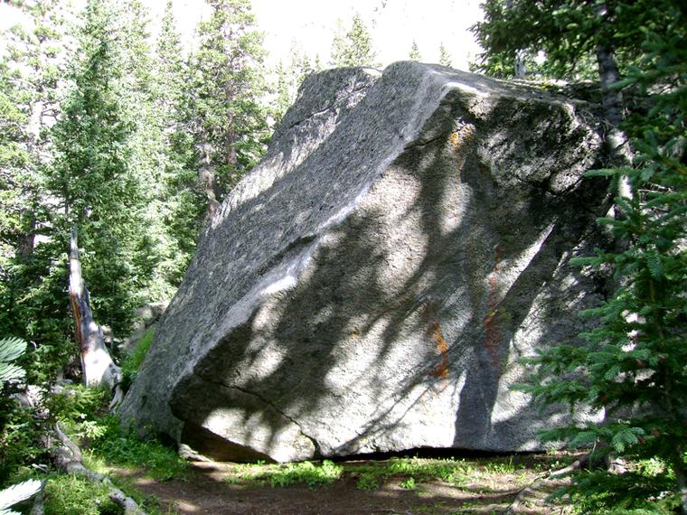 Silver Back Boulder