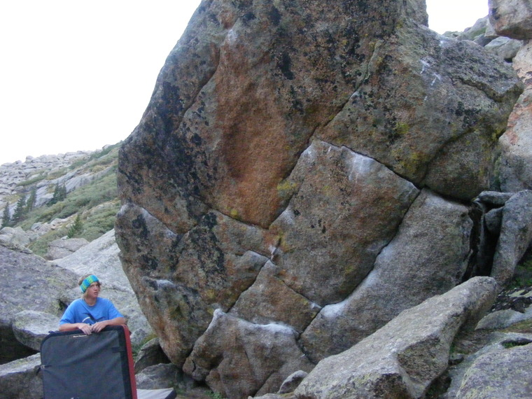 Chalk on Rock