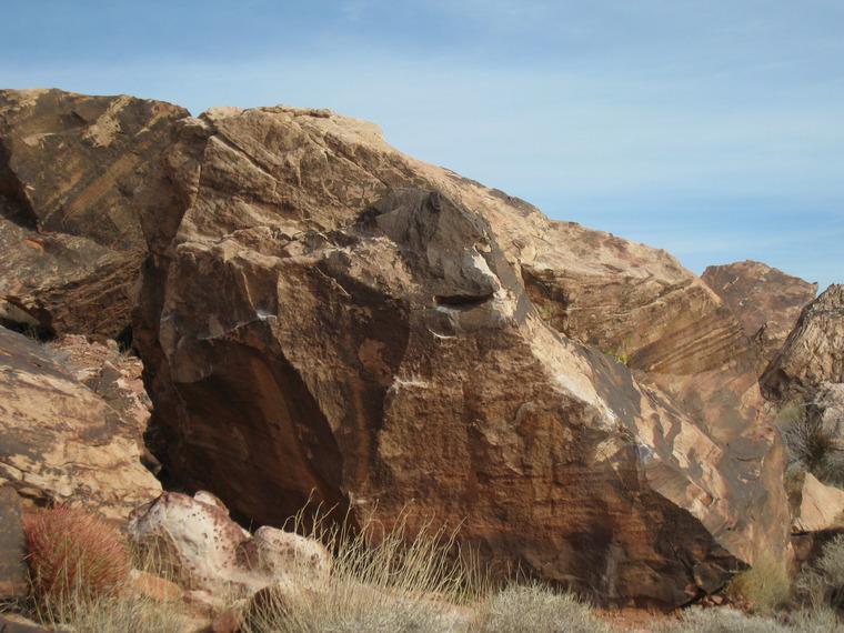 Pretzel Boulder