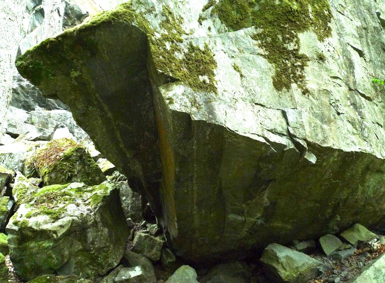 Boulder - parkeringen, Enigma mm