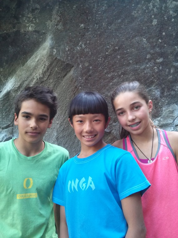 Mirko, Brooke and Ashima.