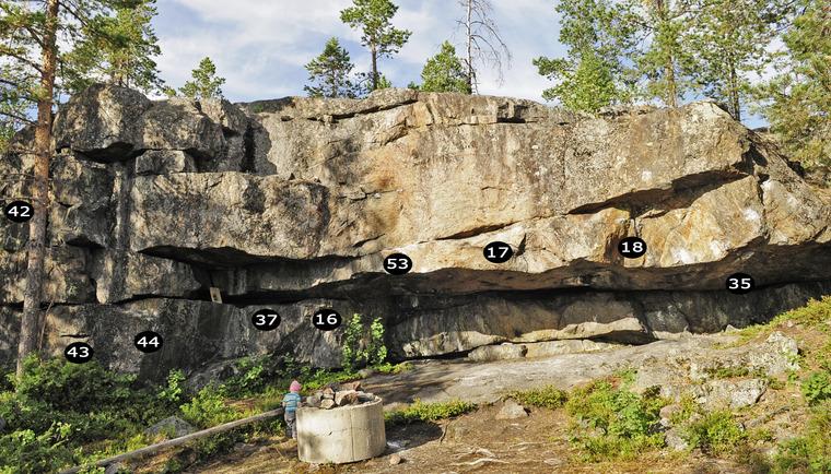 Campingbordsväggen