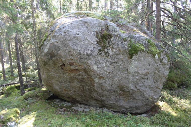 Stenar i mossen