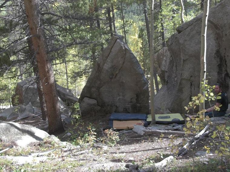 Main boulders