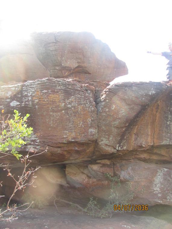 Zoo boulders