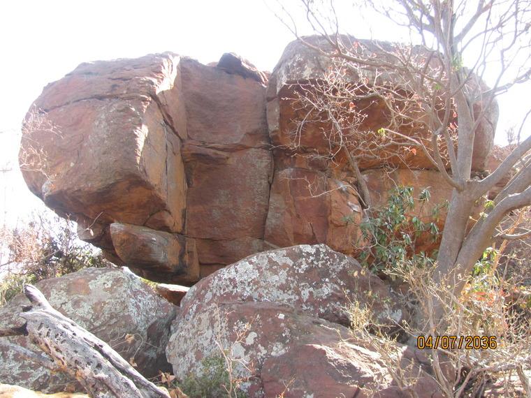 Bearer of the Heavens Boulder