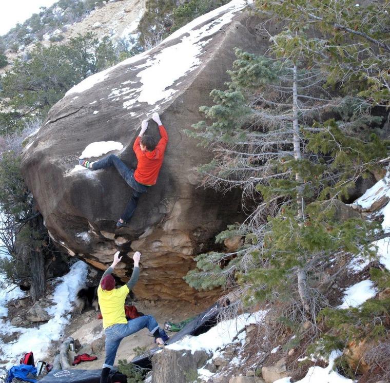 Moon Hill (Dam Boulders)