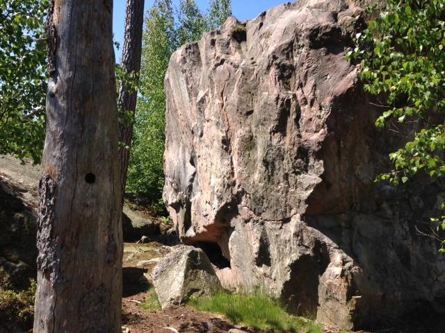 Björnfallet boulder