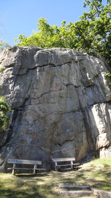 Nedre hylteberget (bänken)