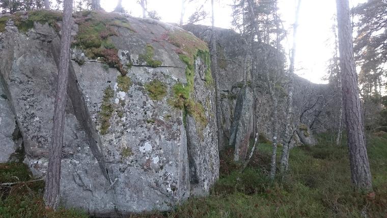 Nedre väggarna