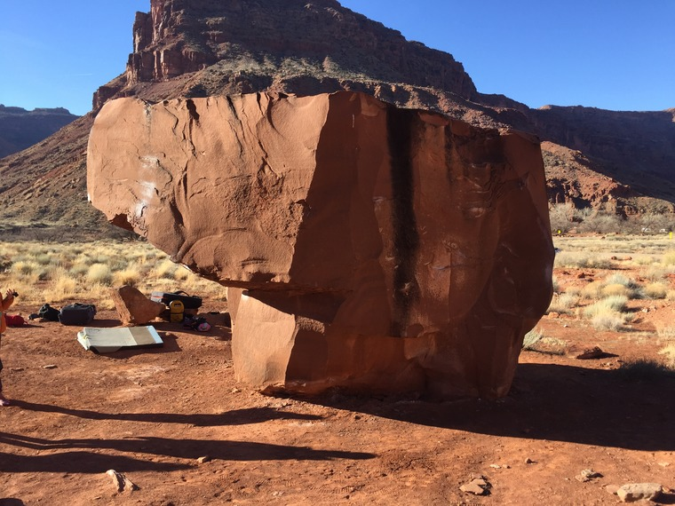 Block Top Boulder