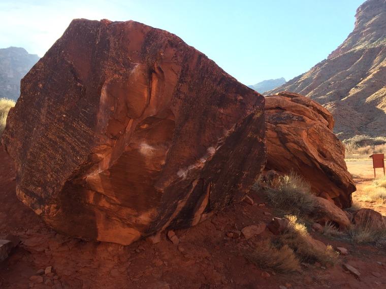 The Wash Boulder