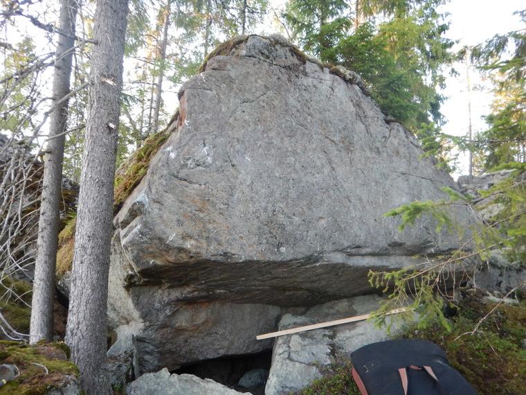 Britas boulder
