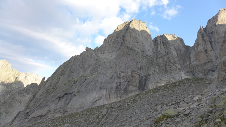 South East Face / Süd-Ostwand