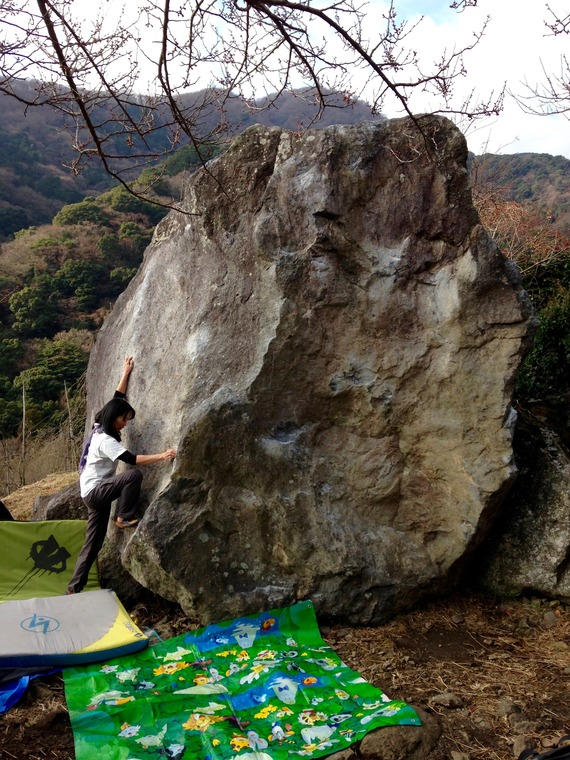 Rice boulder
