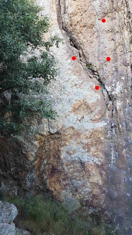 Main crag