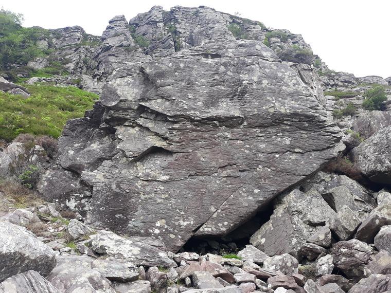 Main Face Boulders